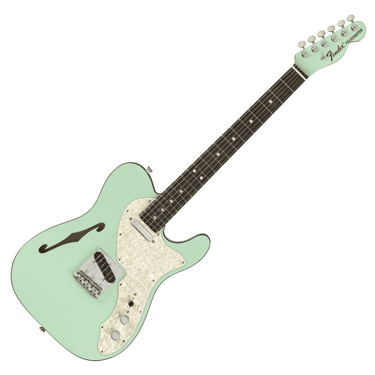 Fender 2-Tone Telecaster Thinline Surf Green