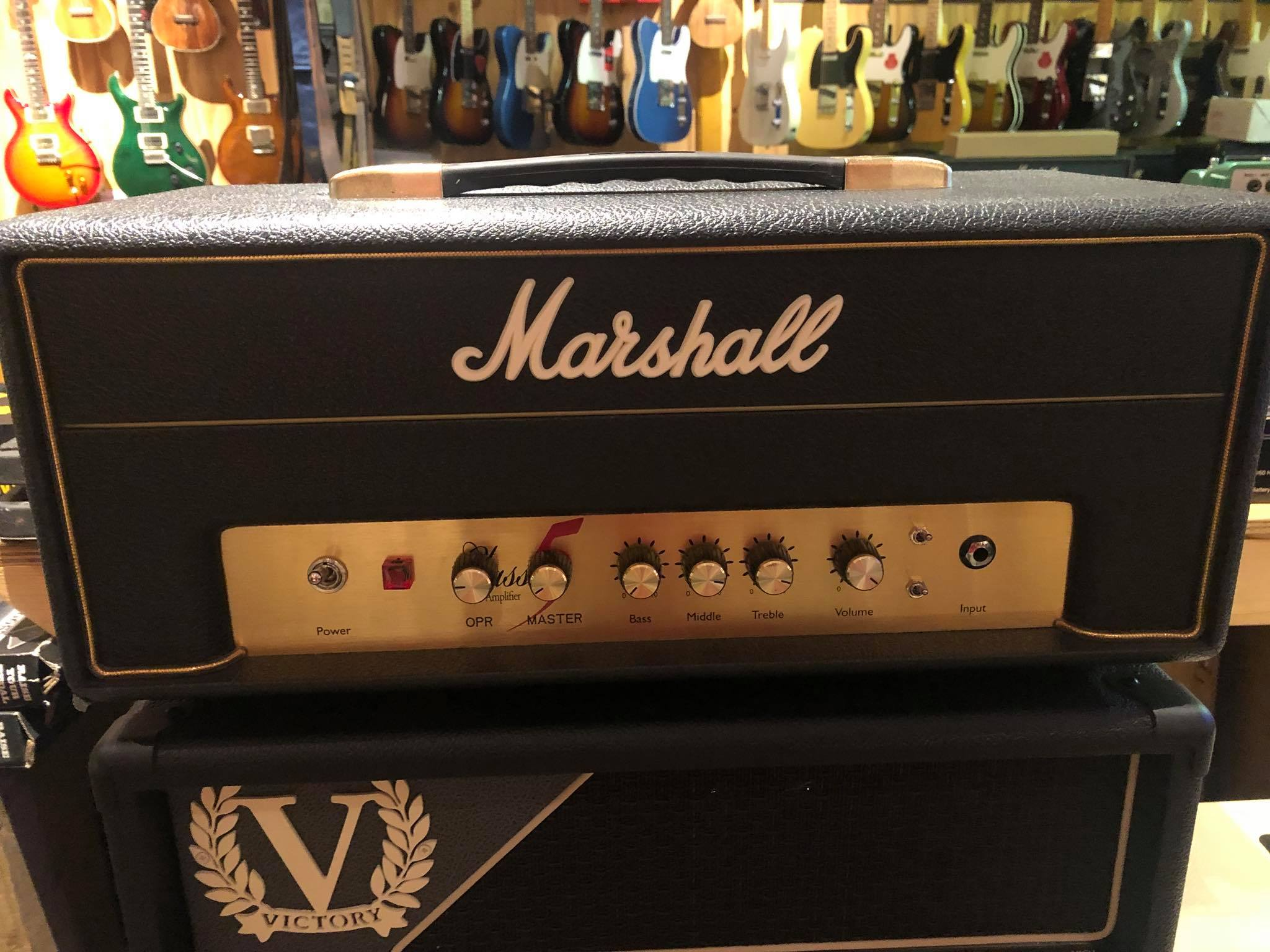 Marshall Class 5 with Rat upgrade