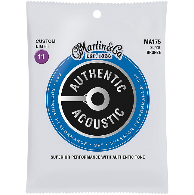 Martin MA175 AASP 80/20 Bronze Custom Light 11-52