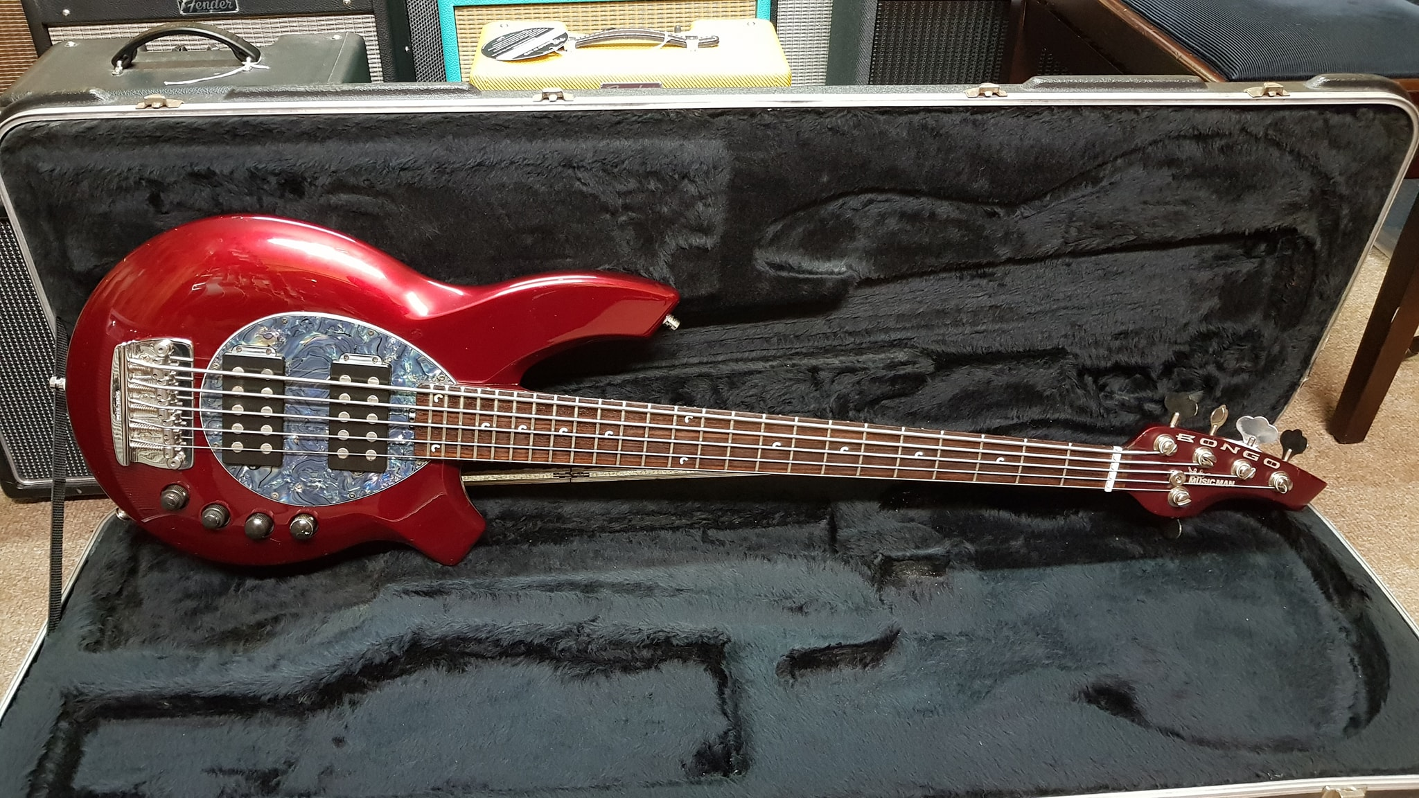 Music Man Bongo Bass 5 String