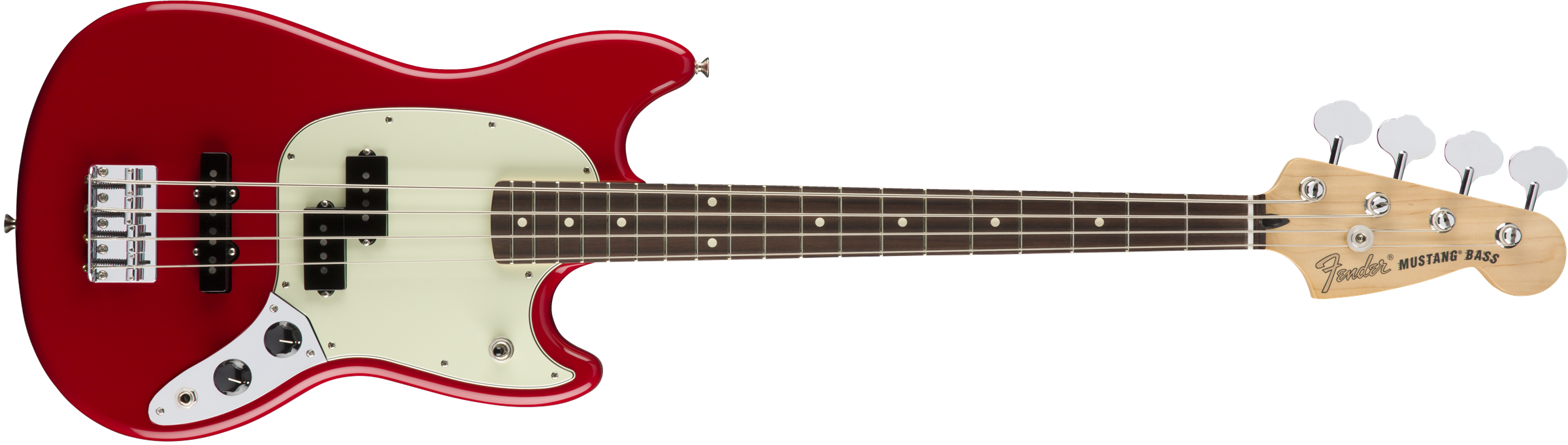 Fender Mustang Bass PJ Torino Red