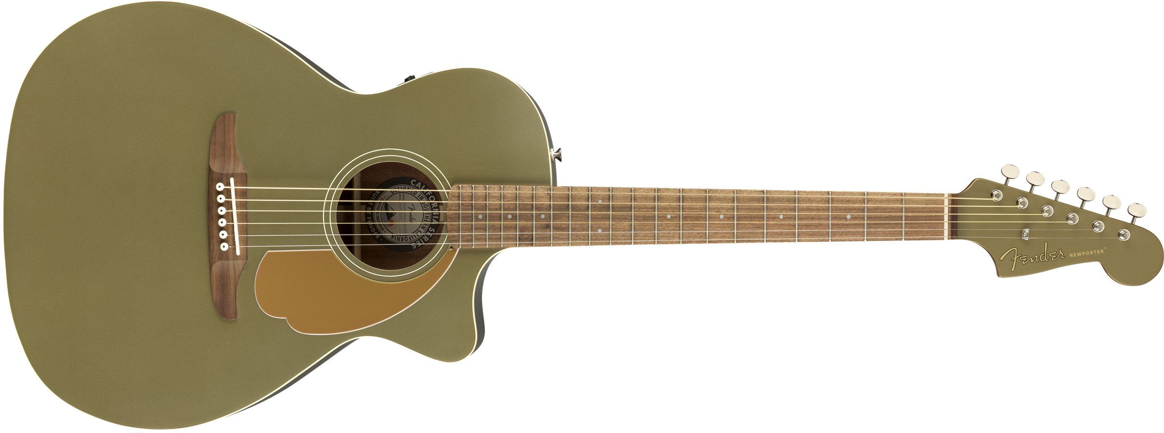 Fender Newporter Player - Olive Satin