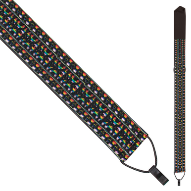 Perri's Ukulele Strap with Hook - Multi Colour