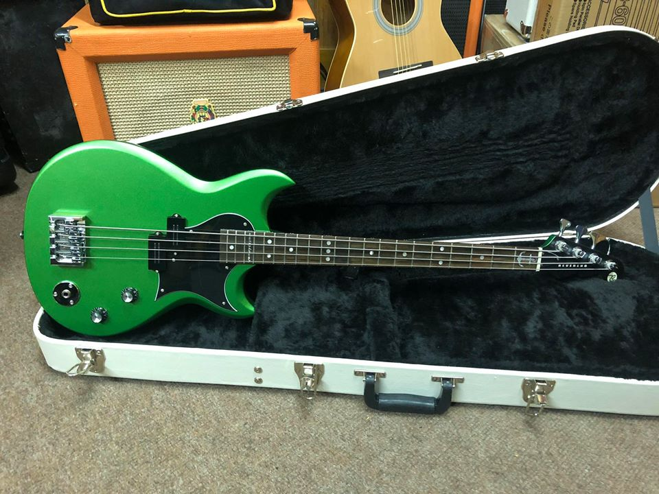 Reverend Mike Watt Signature Bass