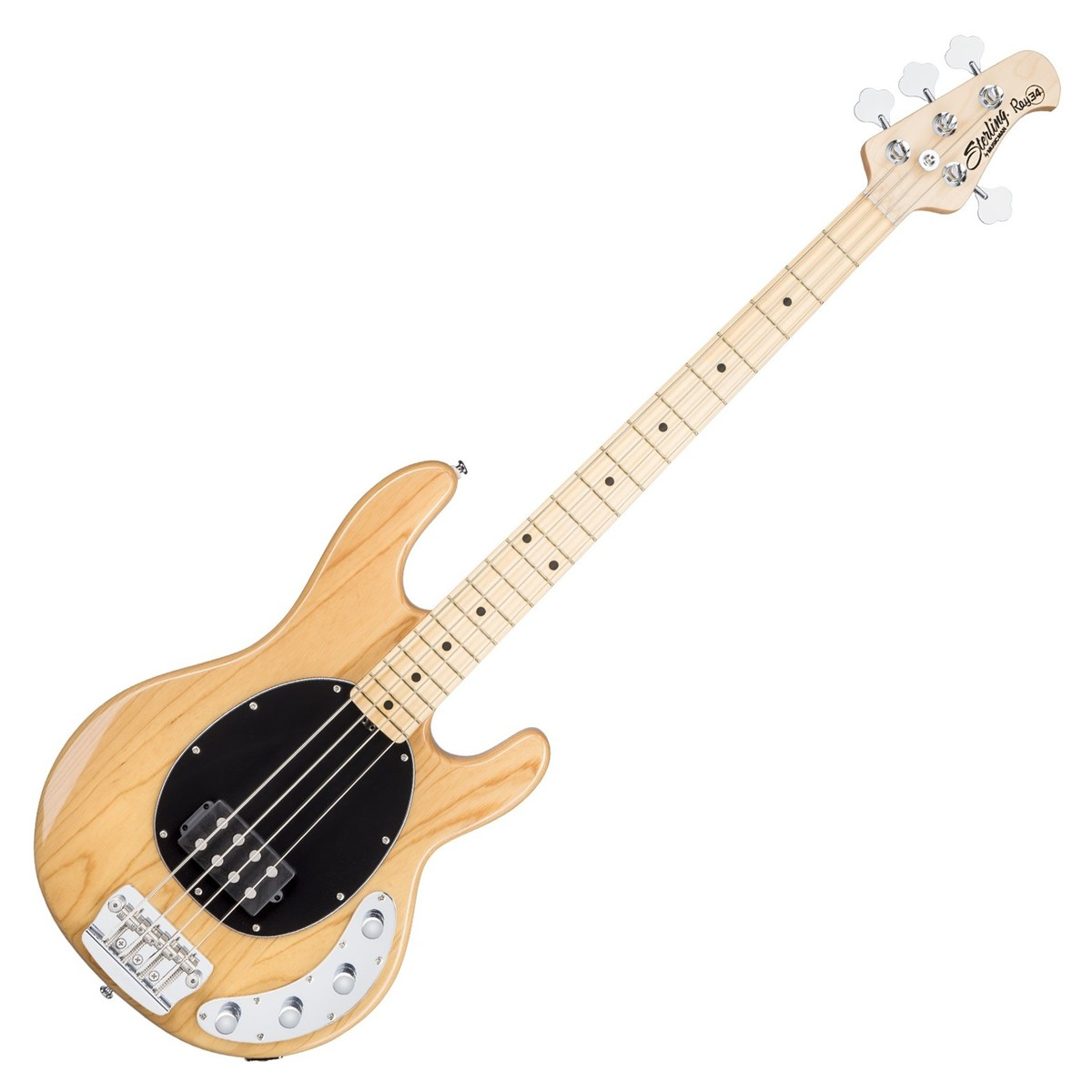Sterling by Music Man StingRay34 Bass, Natural