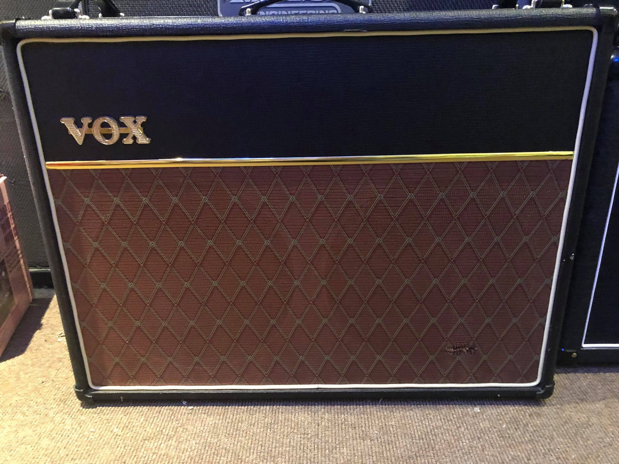Vox AC30 CC2X with Blue Bulldog Speakers