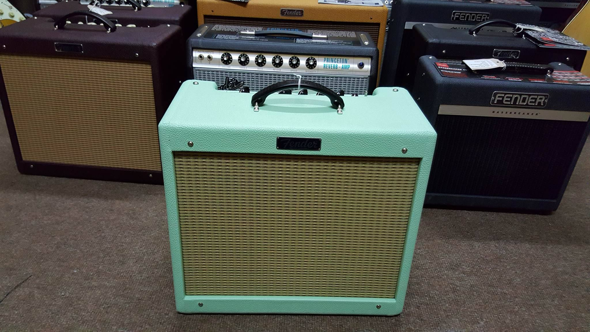 Fender Blues Junior III Surf Cannabis Rex