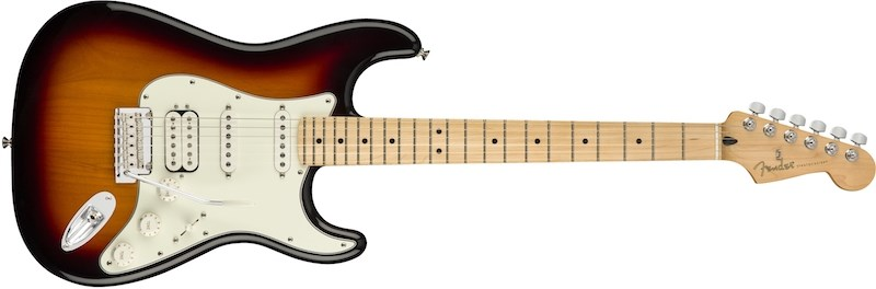 Fender Player Series Strat HSS Sunburst