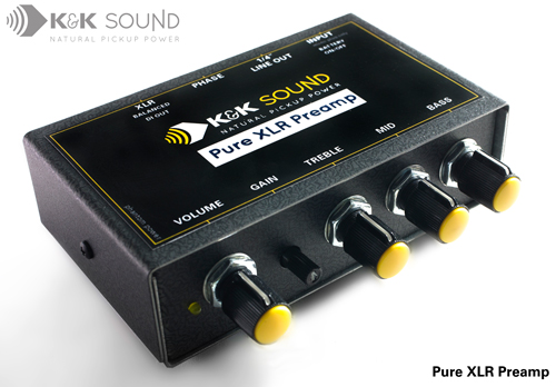 K&K Sound Pure XLR Preamp