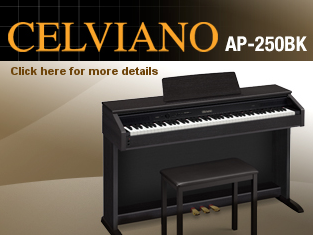 Casio Celviano AP-250 Digital Piano only €799.00!