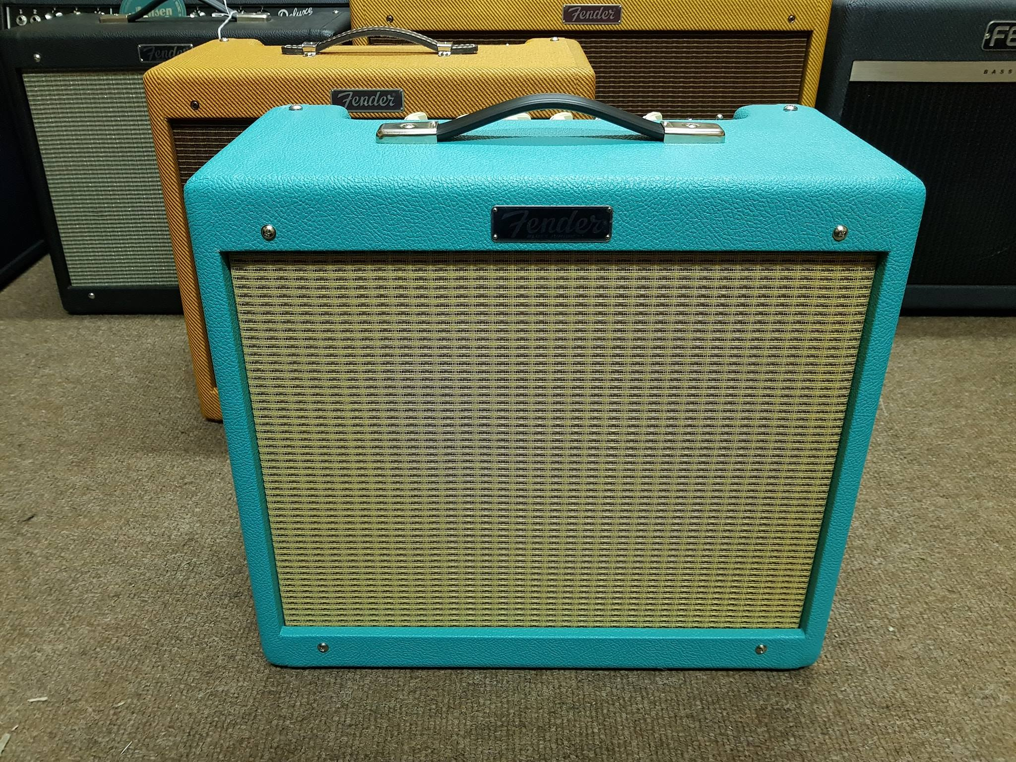 Fender Blues Junior IV Limited Edition Sea Foam Green