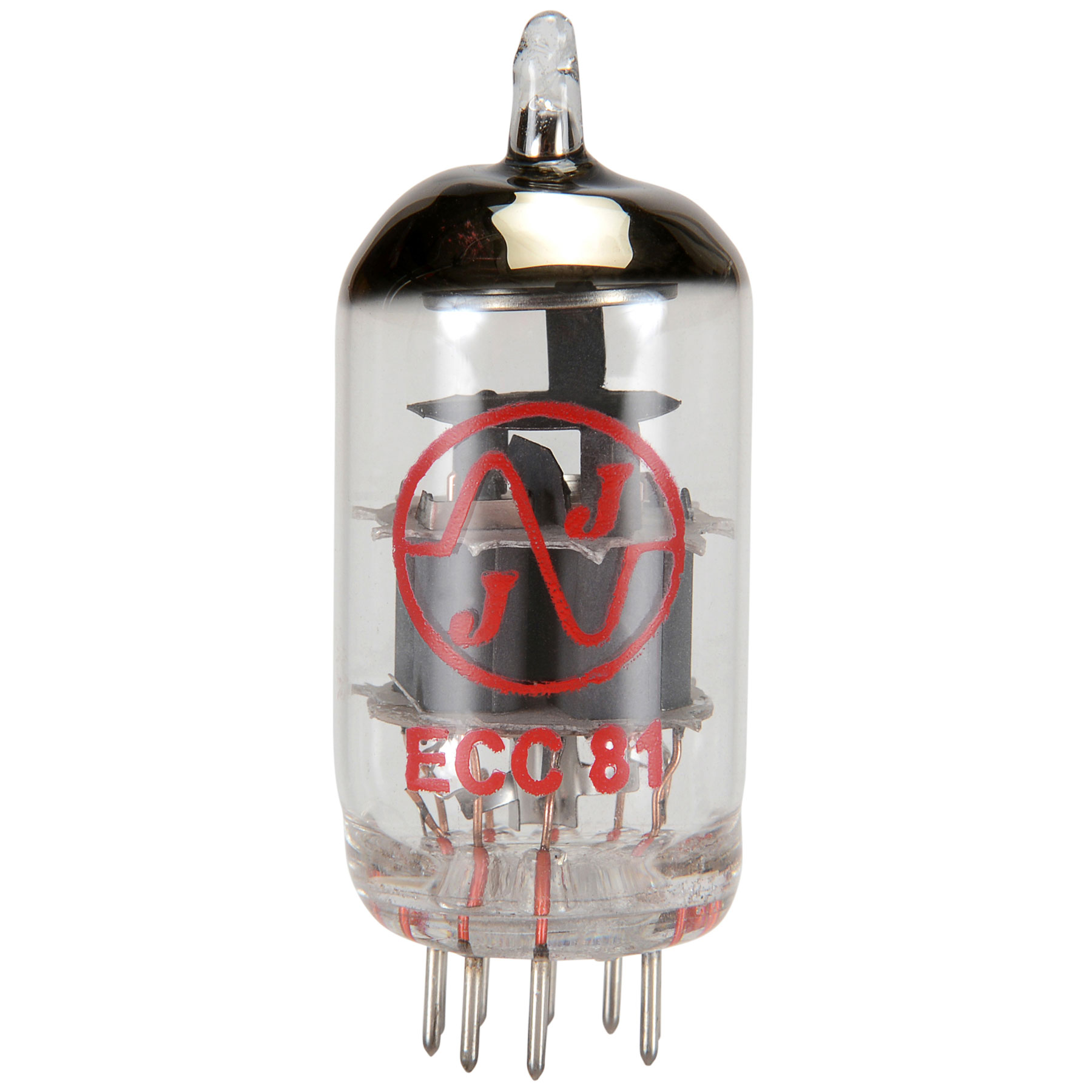 JJ Electronic ECC81/12AT7 Preamp Tube