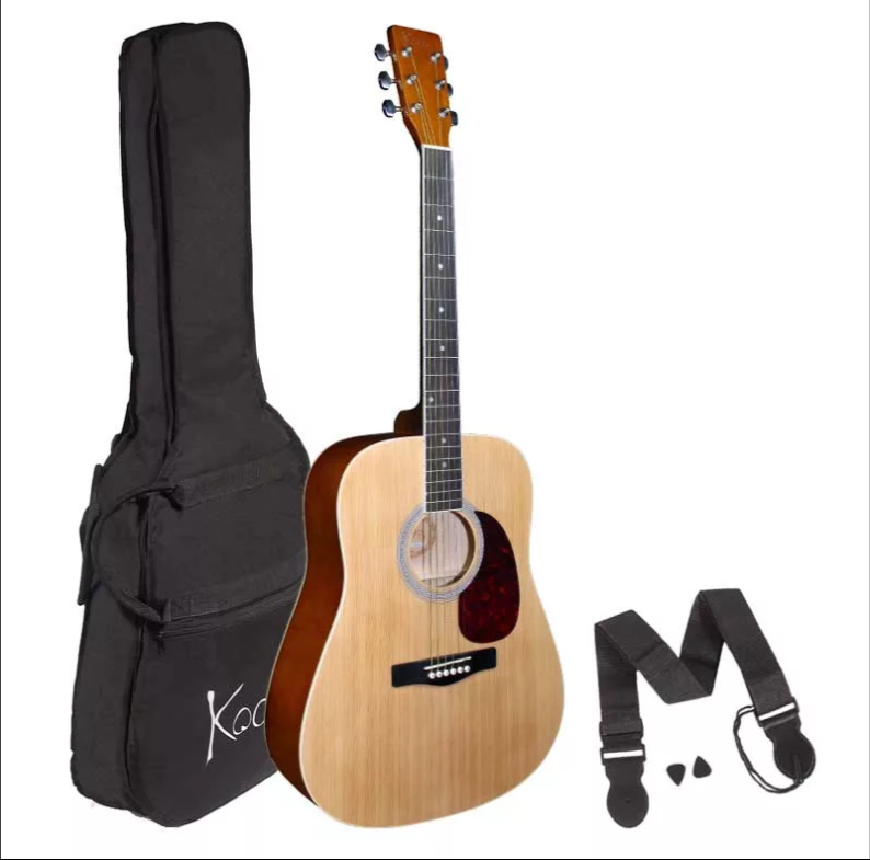 Koda Full Size Acoustic Guitar Pack